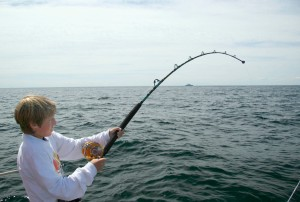Stand-up Tuna Fishing