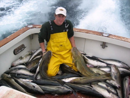 Boatload of Cod, Hadock & Pollock on Tuna Hunter