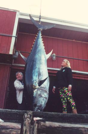 Caught in November aboard Tuna Hunter Fishing Charters