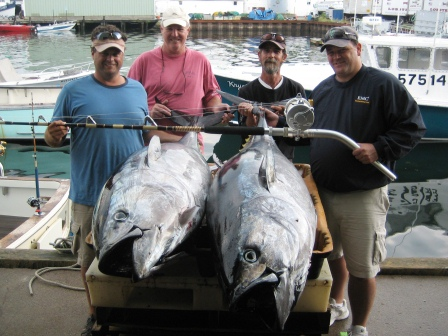 Glocuester Tuna Fishign Charters - Tuna Hunter